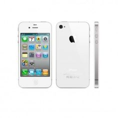 Buy Apple iPhone 4 on Reusell. Unlock Iphone 4, Factory Unlock Iphone, Apple Iphone, Free Iphone, Iphone 4 White, Ios, Apple Smartphone, Newest Cell Phones, Shopping