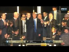 """""""Thunderous Applause"""" Upon Trump's Arrival at Army -vs- Navy Football Game (video)…   The Last Refuge"""