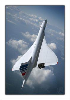 Vintage Aircraft Beautiful Concorde in flight. Sud Aviation, Civil Aviation, Air France, Concorde, Avion Jet, Tupolev Tu 144, Photo Avion, Passenger Aircraft, Air Festival