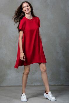 Kırmızı Elbise MLWSS16GV2980