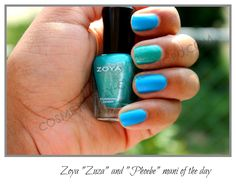 Zoya Nail Polish in Zuza & Phoebe via Cosmetically Challenged