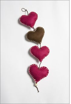 Heart Felts | Mothers Day Craft Ideas | Celebrate