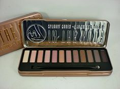 W7 In The Nude Natural Nudes Eye Colour Palette (1Stk) | Your #1 Source for Beauty Products