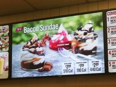 "Bacon Sundae (Burger King)  The Best Food Inventions Of The Year  It was a watershed year for innovative ""food products"" all around the world"