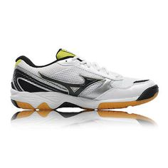 06edb8c1dc7a07  Mizuno wave  twister 3 mens white badminton  tennis squash sports court  shoes ne