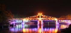 Puente giratorio de la ciudad de Carmelo,República Oriental del Uruguay
