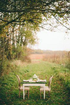 Woodland Ohio Wedding Inspiration