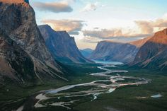 Torngat Mountains National Park, along the northern coast of the mainland of Newfoundland and Labrador, Canada