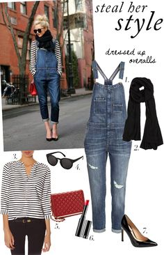 Steal Her Style: Dressed Up Overalls on Blair from Atlantic-Pacific