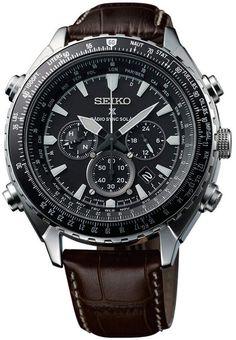 Seiko SSG005P1 Radio Sync Solar World Time - Keskisen Kello Oy