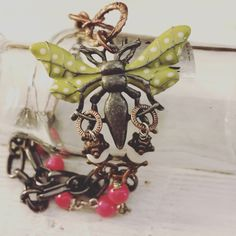 A personal favorite from my Etsy shop https://www.etsy.com/listing/479807974/bug-bracelet