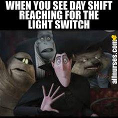 NO it's too bright!