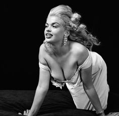 Jayne Mansfield photographed by Milton Greene, 1955