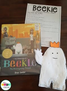Beekle read-aloud and activities for K-2 classrooms. The students love this!