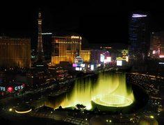 Vegas night views, part 2 - Bellagio fountains, seen from Caesar's Palace Augustus Tower 🤠👌 Night Photography, Travel Photography, Caesars Palace, The St, Business Travel, Marina Bay Sands, Fountain, Vegas, Tower
