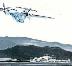 "https://flic.kr/p/UoZWhX | 19_01島のエアライン72ppi | the cut of the weekly serial novel on Sunday MAINICHI ""Shima no Airline"" by author Ryo KUROKI"