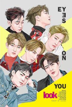 Youngjae, Yugyeom, Mark Jackson, Got7 Jackson, Jackson Wang, Got7 Fanart, Kpop Fanart, Jinyoung, Got7 Funny