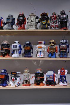 RetroRobotsSneakersCollection03 #robots