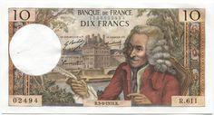10 Francs 1970 (Voltaire) Frankreich Fünfte Republik