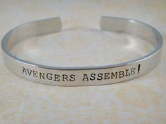 Avengers Jewelry / Avengers Bracelet / Comic by OffTheCuffQuotes, $12.00