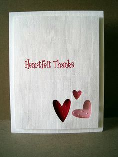perfo Stampin Up triple coeur _ voir lien avec autres exemples!