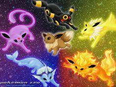 Eevee Tribal Evolution Pokemon Wallpaper god I am such a nerd