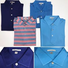 30ff6c9d7617 Peter Millar Cotton Golf Polo Shirt - Mercari  The Selling App