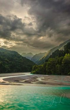 Emerald Light Italy, Barcis Lake, Jason Matias Photography