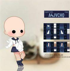 Manga Clothes, Drawing Anime Clothes, Cartoon Outfits, Anime Outfits, Cute Girl Outfits, Club Outfits, Cute Anime Character, Character Outfits, Cute Anime Chibi