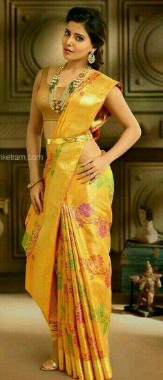 Samantha beautiful in south India shoot South Indian Actress SOUTH INDIAN ACTRESS : PHOTO / CONTENTS  FROM  IN.PINTEREST.COM #WALLPAPER #EDUCRATSWEB