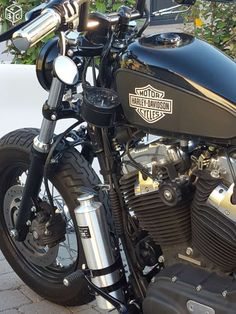 Harley davidson forty eight bobber Motos Moselle - leboncoin.fr #harleydavidsonsportsterfortyeight