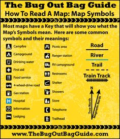 Map Reading Skills: Learning Map Symbols