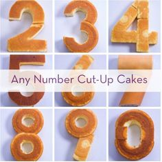 How To Create Any Number With Store-Bought Cakes » Curbly | DIY Design Community