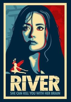 River Tam can kick you in the back of the head if she's standing in front of you facing forward...also, can kill you with her brain.