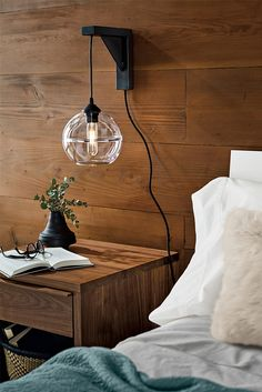 Tandem makes it easy to turn a pendant into a wall sconce without needing to hardwire it.