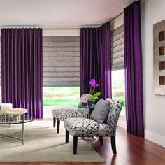 Just found the perfect window treatments!! - Blinds.com. – Soft Roman Shades #homedecor #blinds #roman-shades