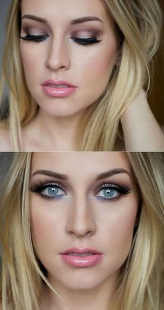 Wie man ein schönes Augen Make-up macht? make up Beautiful Eye Makeup, Perfect Makeup, Beautiful Eyes, Makeup Trends, Makeup Tips, Beauty Makeup, Makeup Lessons, Bridal Makeup, Wedding Makeup