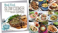 'Real Food Slow Cooker Suppers' Cookbook ~ Available for Pre-Sale! Ground Beef And Broccoli, Broccoli Beef, Real Food Recipes, Cooking Recipes, Easy Recipes, Fresco, Copycat Recipes, Relleno, Pasta Salad