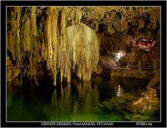 Cenote Xkeken, via Flickr. Just a 15 minutes drive from Valladolid, Yucatan.