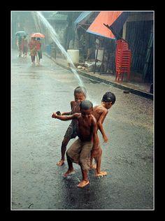 monsoon rain by jashim salam, via Flickr