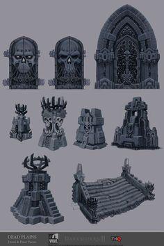 Darksiders II Concept Art by Jonathan Kirtz: