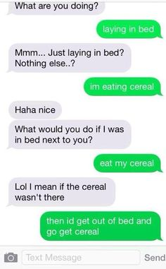 My cereal