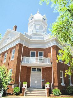Courthouse in Monroeville where To Kill a Mockingbird was filmed.