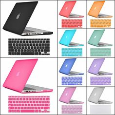 Hard Rubberized Frosted Matte Case Cover Keyboard Cover For Apple Macbook Pro 13 #UnbrandedGeneric