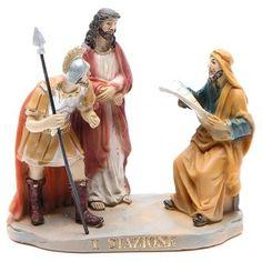 Vía Crucis 14 estaciones resina 16 cm | venta online en HOLYART