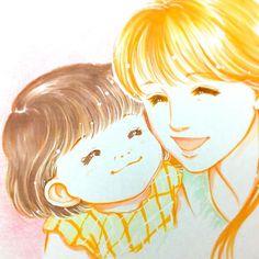 仕事の方もうしばらく詰め詰めです。なので、少し前に描いた絵をアップしてみようかなと。これはシングルマザーが主人公の作品の表紙に使った絵です。子どもの可愛いさを出せるようがんばった作品でした。  #イラスト #illustration #イラストレーション #コピック #パステル #色鉛筆 #もとp #children #こども #お母さん #ママ #かわいいfukudamotoko2017/11/10 00:30:33