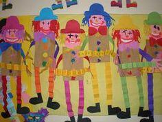 παιχνιδοκαμώματα στου νηπ/γειου τα δρώμενα Preschool Circus, Circus Crafts, Carnival Crafts, Kids Carnival, Circus Art, Carnival Costumes, Preschool Crafts, Circus Theme Classroom, Theme Carnaval