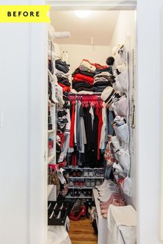A magic fix for even the TINIEST closet