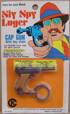 Sly Spy Luger. Via Vintage Dime Store Toys.