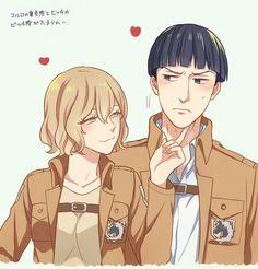 #marlo #hitch #Shingeki no Kyojin┋Атака Титанов┋Attack on Titan